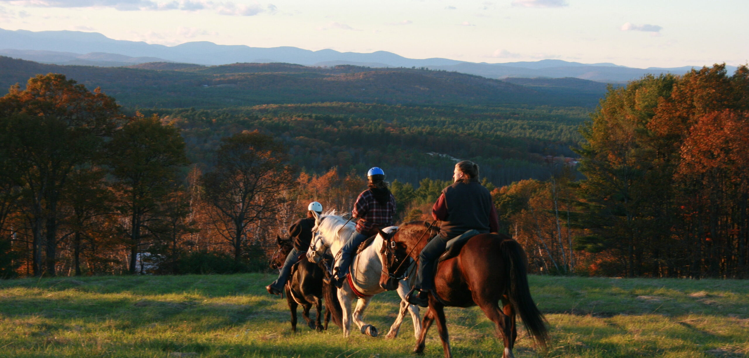 Fall Foliage Horseback Trail Rides