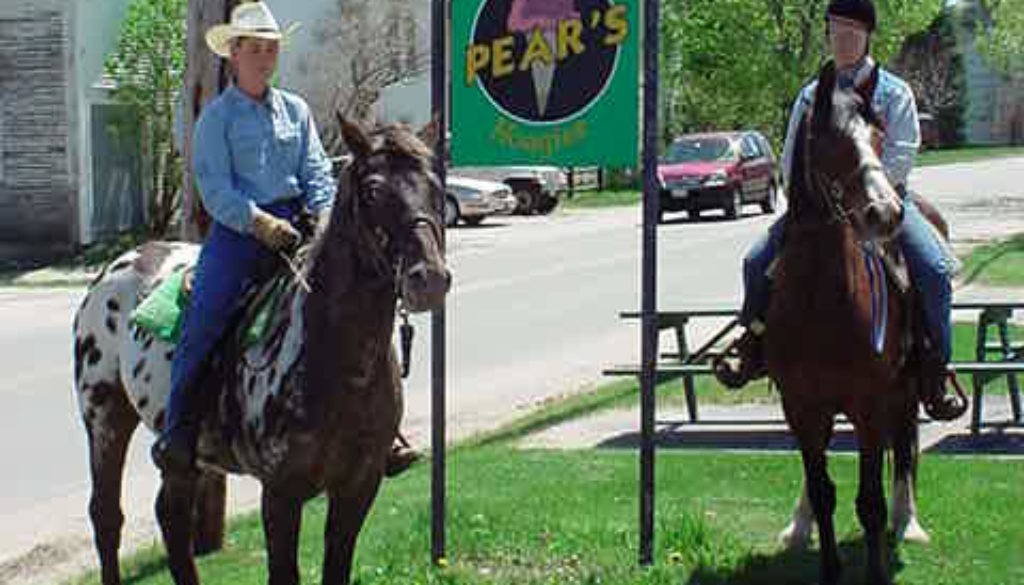 Horses at Pears Ice Cream
